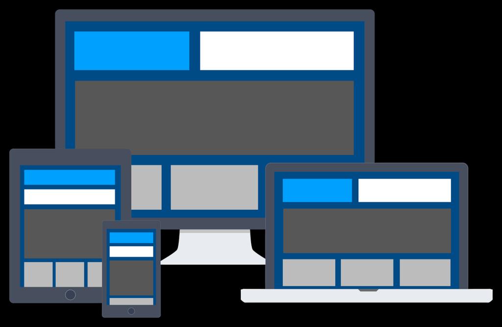 site web en responsive web design