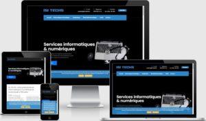 Site vitrine isi-techs.fr