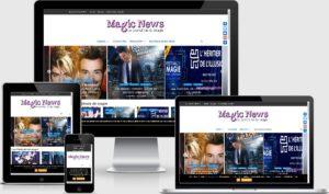 Site portail magicnews.fr